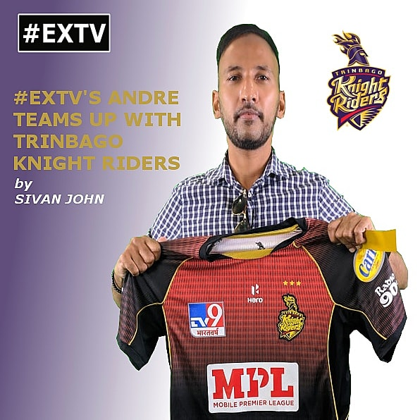 EXTV'S Andre Sooklal Teams Up with Trinbago Knight Riders!