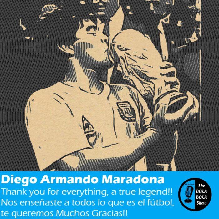 Our Tribute to Maradona, Gracias Diego For Everything: 32