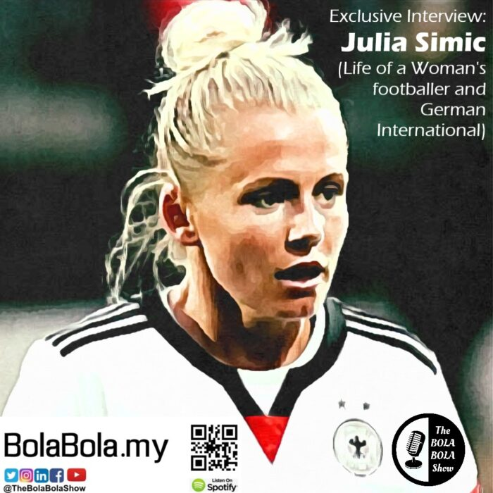 EXCLUSIVE INTERVIEW: Julia Simic (The Life of AC Milan & Germany Women's Football Team: 33