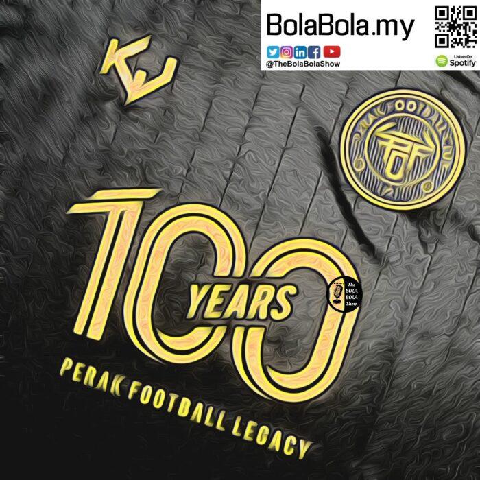 Perak FC 100 Years Kit From Kaki Jersi  (Review)