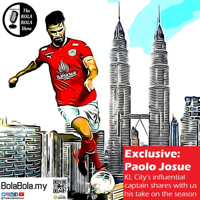 EXCLUSIVE INTERVIEW: Riding High With Captain KL City, Paulo Josue: 51