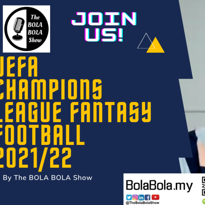 The BOLA BOLA Show Welcomes You To Our UEFA Champions League Fantasy Football